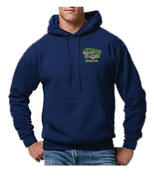 Stolly Operator Embroidered Hoodie